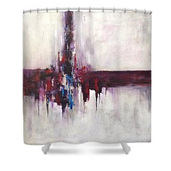Three Square #2 Shower Curtain