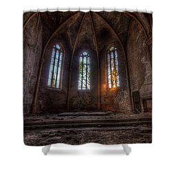 Three Tall Arches Shower Curtain