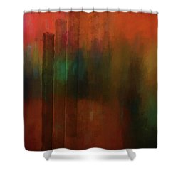 Three Trees Shower Curtain by Kandy Hurley