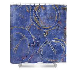 Three Worlds 2 Shower Curtain