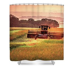 Swathing On The Hill Shower Curtain