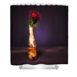 Shower Curtain featuring the photograph Thrill No. 1  ... by Chuck Caramella
