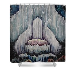 Thrones Shower Curtain by Cheryl Pettigrew