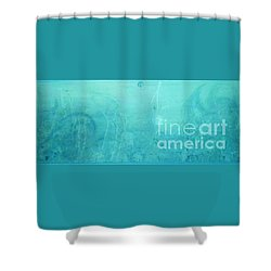 Through The Door Of Christ Consciousness Shower Curtain by Talisa Hartley