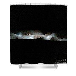 Through The Kaleidoscope Shower Curtain by Patricia E Sundik