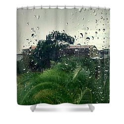 Shower Curtain featuring the photograph Through The Looking Glass by Persephone Artworks