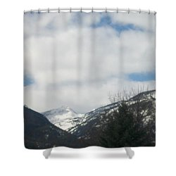 Shower Curtain featuring the photograph Through The Pass by Jewel Hengen