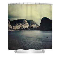 Through Thick Or Thin Shower Curtain by Laurie Search