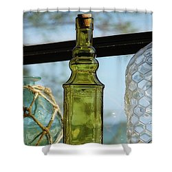 Thru The Looking Glass 3 Shower Curtain by Megan Cohen