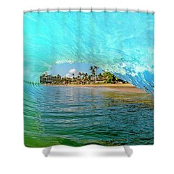 Thru The Looking Glass Shower Curtain by James Roemmling