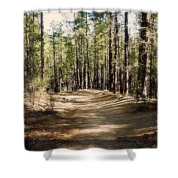 Thumb Butte Trail Shower Curtain