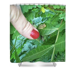 Shower Curtain featuring the photograph Thumb Sized by Megan Dirsa-DuBois