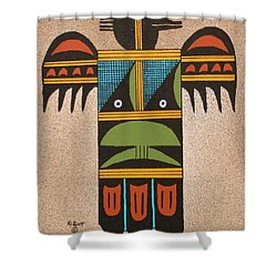 Thunder Bird #2 Shower Curtain
