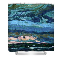 Thunder Cloud Shower Curtain