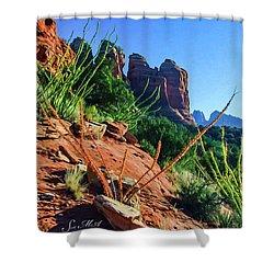 Thunder Mountain 07-006 Shower Curtain