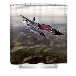 Thunder Road Shower Curtain