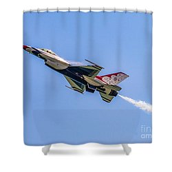 Shower Curtain featuring the photograph Thunderbird #5 by Nick Zelinsky