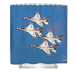 Thunderbird Diamond Shower Curtain