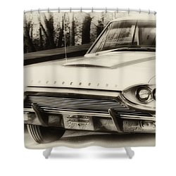 Thunderbird Dreams Shower Curtain by Bill Cannon