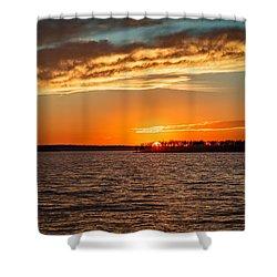 Thunderbird Sunset Shower Curtain