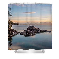 Thunderbird View Shower Curtain