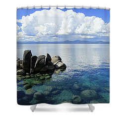 Thunderclouds Shower Curtain