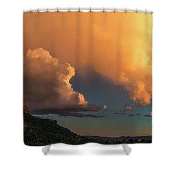 Thunderhead In Sedona Shower Curtain