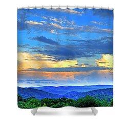 Thunderheads Shower Curtain