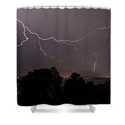 Thunderstorm II Shower Curtain