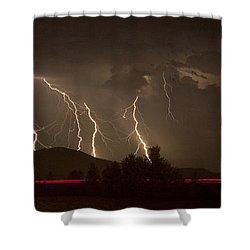 Thunderstorm IIi Shower Curtain