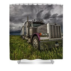 Thunderstruck Shower Curtain