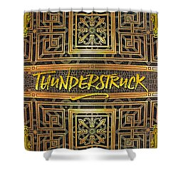 Thunderstruck Opera Garnier Ornate Mosaic Floor Paris France Shower Curtain
