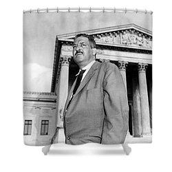 Thurgood Marshall Shower Curtain