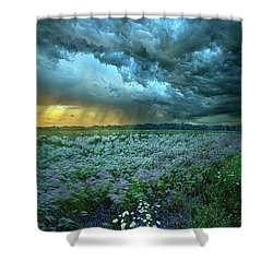 Thy Will Be Done Shower Curtain