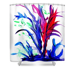 Ti Shower Curtain by Fred Wilson