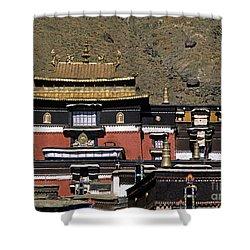Tibet_110-6 Shower Curtain