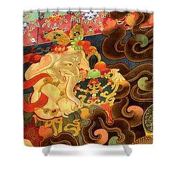 Tibet_162-12 Shower Curtain