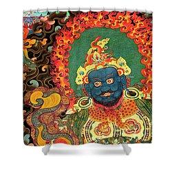 Tibet_163-7 Shower Curtain