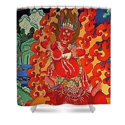 Tibet_190-12 Shower Curtain