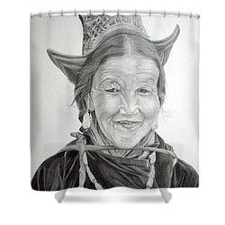Tibetan Delight Shower Curtain
