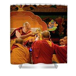 Tibetan_d124 Shower Curtain