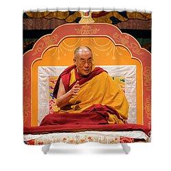 Tibetan_d130 Shower Curtain
