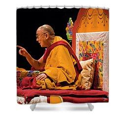 Tibetan_d149 Shower Curtain