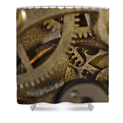 Tic Tac Wheels Shower Curtain