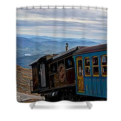 Tickets Please... Shower Curtain by Deborah Klubertanz