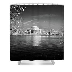 Tidal Basin Jefferson Memorial Shower Curtain