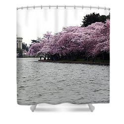 Shower Curtain featuring the photograph Tidal Basin Spring by Mitch Cat