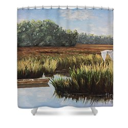 Tidal Creek Shower Curtain