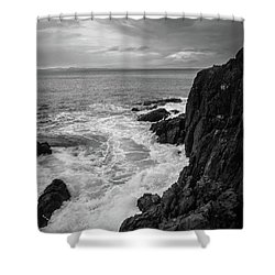 Tidal Dance Shower Curtain