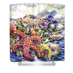 Tidal Pool I Shower Curtain
